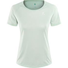 Odlo BL Millennium Element Koszulka do biegania z krótkim rękawem Kobiety petrol